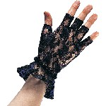 Lace Fingerless Gloces